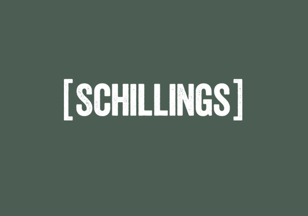 SCHILLINGS White Logo Panel 1000X700